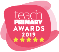 Teach Primary Awards 5*. Winner 2019